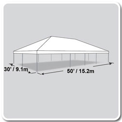 sc 1 st  Party Animals Party Rentals & 30x50 Tent - Party2Geaux
